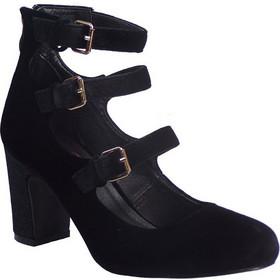 4e080c54de6 Fashion Icon Γυναικεία Παπούτσια Γόβα f15-06621 Μαύρο Βελούδο 37577