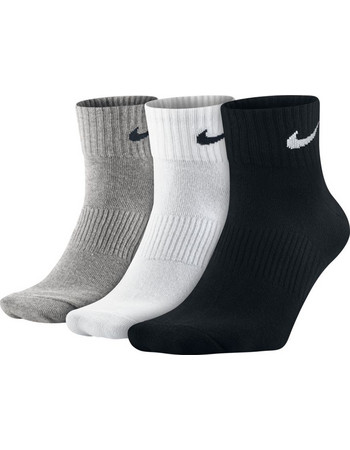 NIKE COTTON SOCKS HALF SX4706-901 MULTI-COLOR 85223b5eb13