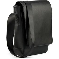a07de759708 Μαύρο χιαστί τσάντα ταχυδρόμου