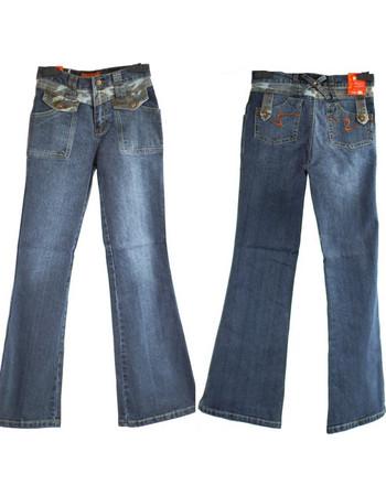 Παντελόνι μπλε Jean καμπάνα για κορίτσια 8206 a5ea288a372