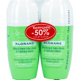 Klorane Bille Fraiche Roll On 2x40ml