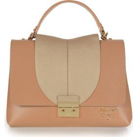 Γυναικεία τσάντα χεριού-ώμου Veta 762-5 Elizabeth George series σε Camel    bronze 09c2de556aa