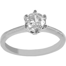 Δαχτυλίδι μονόπετρο Vogue ασήμι 925 με ζιργκόν 065211.3 464d01e5861