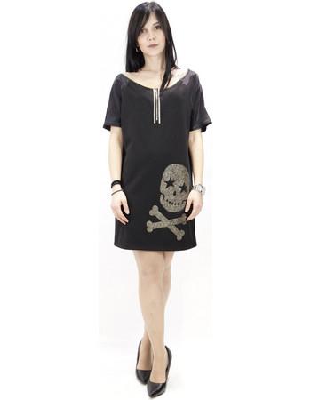 EW11.91205 Φόρεμα Μαύρο Iso 047ed9fb075