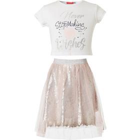 2f4d4eb564d Energiers 16-219203-0 Σετ μπλούζα και φούστα τούλι Ροζ Energiers
