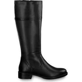 a056ab2277 Tamaris 1-25547-21 Μαύρες Γυναικείες Μπότες Tamaris 1-25547-21 001
