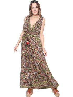 a2a227597c Φόρεμα Gypsy Σε Χακί