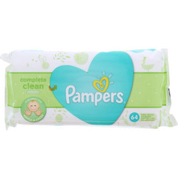 Pampers Natural Clean 64τμχ