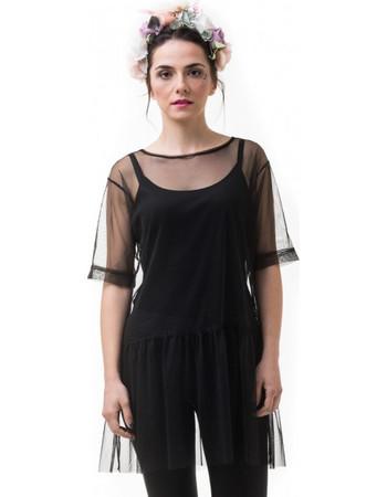τουλι μαυρο - Φορέματα  3931656c137