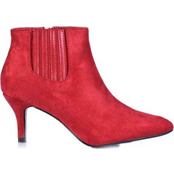 1faadccea52 Μποτάκια κόκκινα σουέτ με λάστιχο στο πλάι 3816166red. Tsoukalas Shoes