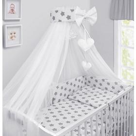 8078c02979d Luxury Σετ Προίκας Μωρού για Κούνια 10 τμχ OEM με Κουνουπιέρα 140 x 70 cm -