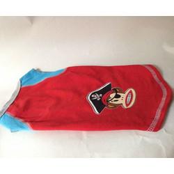 41a8417fb0cc Μπλουζάκι Μακό Κόκκινο   Μπλε Με Στάμπα Μαϊμουδάκι Πειρατή L