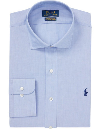 Polo Ralph Lauren ανδρικό πουκάμισο γαλάζιο Slim Fit Easy Care -  712722193001 - Γαλάζιο 0bbb29f1f82