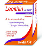HealthAid Lecithin 1000mg & Co-Q10 & Vitamin E 30s