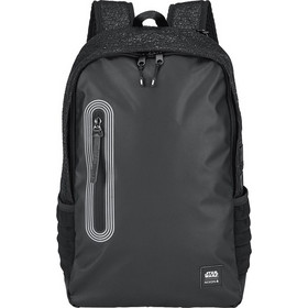 c5f675dd06 Τσάντα Nixon Star Wars από πολυεστέρα σε μαύρο χρώμα με σχεδιασμό  εμπνευσμένο από τον Kylo. Διαθέτει θήκη για laptop και άλλες τσέπες για  οργάνωση.