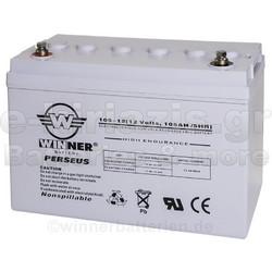 Μπαταρία Winner Perseus VRLA - AGM τεχνολογίας ηλεκτρικών οχημάτων - 12V  105Ah bc51196db33