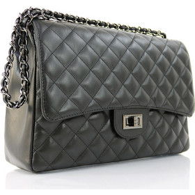 c192f754c6 Passaggio Leather Bag Καπιτονέ Τσάντα Από Γνήσιο Δέρμα Handmade In Italy  (Jumbo Size)