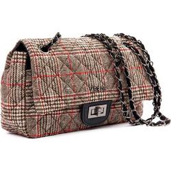 6f584672541 Τσάντα γυναικεία Ωμου Verde 16-4918-Καφε