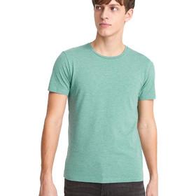 81f223a3db34 Ανδρικό Μονόχρωμο Κοντομάνικο Μπλουζάκι T-Shirt Celio NEUNIR ανοιχτό Πράσινο