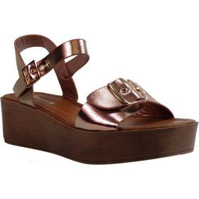Envie Shoes Γυναικεία Παπούτσια Πέδιλα E42-05041 Ροζ Χρυσό 402262 3a4cf6b9d30