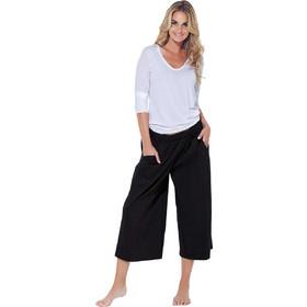 529dcc39687a Βαμβακερό σύνολο άσπρη μπλούζα με μαύρη παντελόνα Jadea 3043