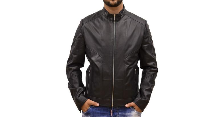 men biker jacket - Ανδρικά Μπουφάν Hugo Boss  b8a4ad1f1f9