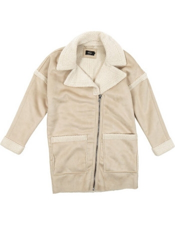Only Felicity Bonded Sherpa Coat OTW 15159450 Μπεζ 5fd436cc2df