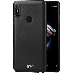 Lenuo Leshield Series Xiaomi Redmi Note 5 Pro PC Dropproof Protective Back Cover Case(Black