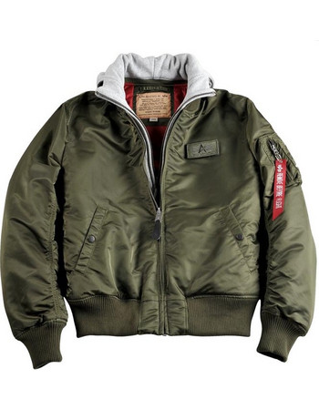 ΤΖΑΚΕΤ ALPHA INDUSTRIES MA-1 D-TEC DARK GREEN b12c7cfc759