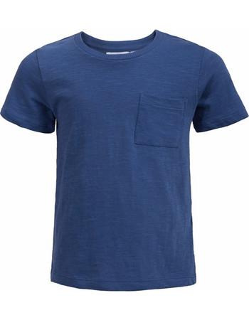 Παιδικό κοντομάνικο μπλε για αγόρια Minoti 08392d07fa6
