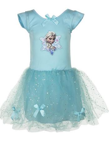 Παιδικό Φόρεμα Frozen Disney a4fe8eaeb68
