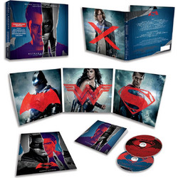 BATMAN V SUPERMAN: DAWN OF JUSTICE - THE ORIGINAL MOTION PICTURE SOUNDTRACK Deluxe Limited Edition (2 AUDIO CD) - IMPORTED / ΕΙΣΑΓΩΓΗΣ