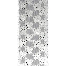 Δαντέλα νάιλον μαλακή ελαστική πλάτος 225 mm - 10 μέτρα το τεμάχιο 5bf0a0b0878