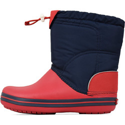 203509 CROCS CROCBAND LODGEPOINT BOOT - NAVY RED 89fe65d1ccd