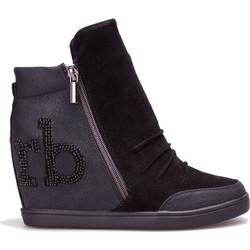 Γυναικεία παπούτσια Roccobarocco - 01FRBSC2GN01 TH - Μαύρο 03dbd2f9532