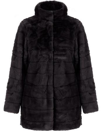 Παλτό από οικολογική-συνθετική γούνα WL1627.7882+3 b27c5933c5e