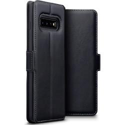 ca1c6bc8a2 Terrapin Low Profile Δερμάτινη Θήκη - Πορτοφόλι Samsung Galaxy S10 Plus -  Black (117-