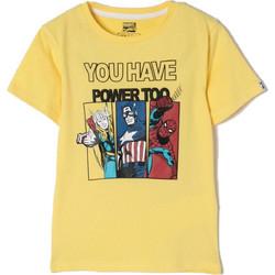 8b18ef88f84 Zippy ZB03L11-455-4 Μπλουζάκι με ήρωες της Marvel Κίτρινο Zippy