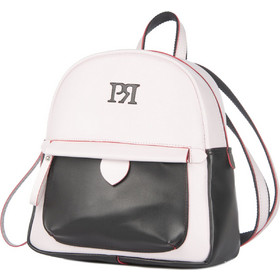 b5a1ba3a263 Λευκό Σακίδιο Πλάτης με Μαύρη Λεπτομέρεια Pierro Λευκό Pierro Accessories