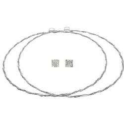 Ασημένια στέφανα 925 με swarovski πέτρες 028481 028481 Ασήμι c6f3c349d94