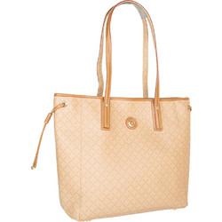 b04700f2c9 Τσάντα Ώμου La Tour Eiffel Logo-Δέρμα 151006 Μπεζ-Ταμπά