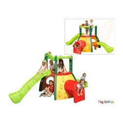 fa2a0849544d Παιχνίδια Εξωτερικού Χώρου και Μίμησης Little Tikes Πλαστικό Σύστημα  Παιχνιδιού Διώροφο κέντρο δραστηριοτήτων Evergreen Little Tikes