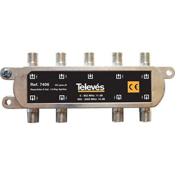 7406 splitter 8 ways F ALL BAND DC