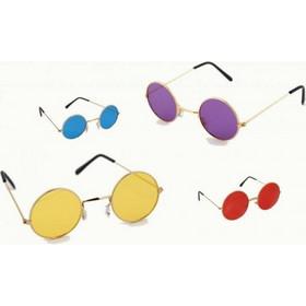 Γυαλιά αποκριάτικα στρόγγυλα 4 χρώματα 7803 77fa31c1f0c