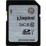 Kingston 16GB SDHC UHS-I Class 10