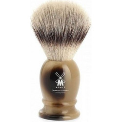 Πινέλο Muhle 39K252 Silvertip Fibre Synthetic Hair Horn Resin