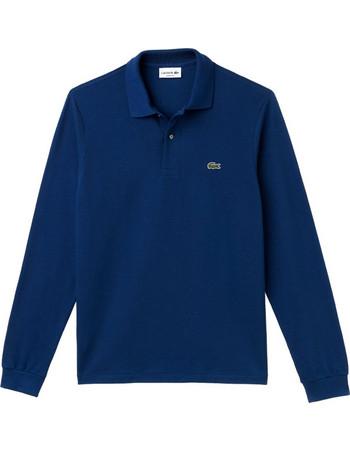 b4717fb030b4 Lacoste ανδρική μπλούζα Polo L.12.12 με μακρύ μανίκι - L1312 - Μπλε Ηλεκτρίκ