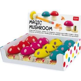 Γόμα με Ξύστρα Magic Mushroom Milan (1 Τεμάχιο) b3da79d62f0