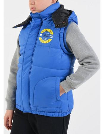 e225efb39a Bodytalk Kid s Sleeveless Jacket with Hoodie 172-758723