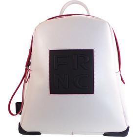 FRNC FRANCESCO Τσάντα Γυναικεία Πλάτης-Backpack 2023 Off White Δέρμα 59158 3b927f1f238
